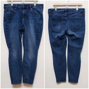 Plus Size Gap 1969 True Skinny Jeans